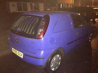Vauxhall Corsa CDTI van