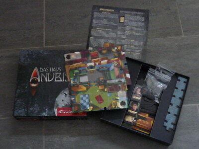 Studio 100 MEHADE000030 Das Haus Anubis Brettspiel Gesellschaftsspiel (Das Papier Studio)