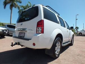2005 Nissan Pathfinder R51 ST-L White 5 Speed Sports Automatic Wagon Rosslea Townsville City Preview