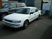1995 Toyota Corolla AE101R CSi White 5 Speed Manual Sedan Wellington Wellington Area Preview