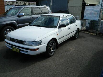 1995 Toyota Corolla AE101R CSi White 5 Speed Manual Sedan Wellington Wellington Area Preview