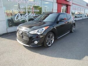 2014 Hyundai Veloster TURBOT AUTO AC G.P.S CUIR TOIT MAGS