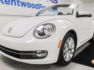 2013 Volkswagen Beetle Convertible with leather.
