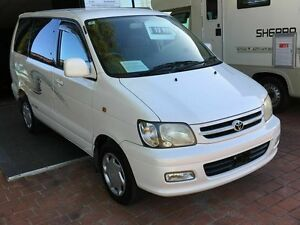 2000 Toyota Spacia NOAH Luxury Import White 4 Speed Automatic Wagon Taren Point Sutherland Area Preview