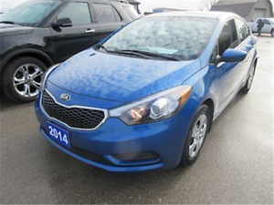 2014 Kia Forte LX+ CERTIFIED & E-TESTED ONLY $100. BI-WKLY