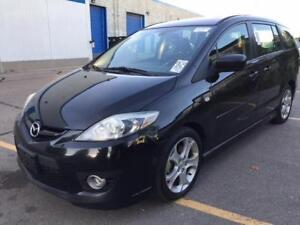 2008 MAZDA 5 GRAND TOURING/ACCIDENT FREE/ONE OWNER/SUNROOF/ALLOY