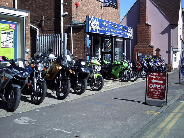 Hythe Hill Motorcycles Showroom | eBay Motors Pro