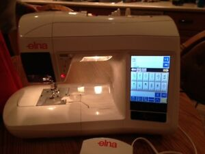 ELNA 9010 XQUISIT SEWING/EMBROIDERY MACHINE  Firm on  the price