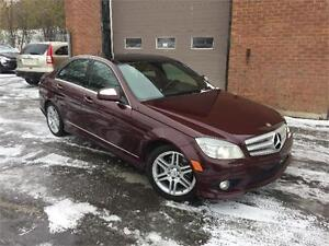 MERCEDES C350 2008 / AWD / CUIR / MAGS / TOIT OUVRANT / BLUETOOT