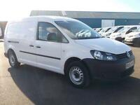 Volkswagen Caddy 1.6 TDI 102PS MAXI STARTLINE VAN DIESEL MANUAL WHITE (2013)