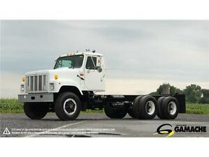 2000 INTERNATIONAL 2574 À VENDRE / CAB & CHASSIS TRUCK FOR SALE