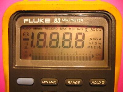 Fluke 83 83- Lll 85 85-lll Multimeter Series 1 3 Display Fade Repair Kit