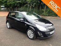 2011.11.VAUXHALL CORSA.1.4 SE.FIVE DOOR.BLACK.
