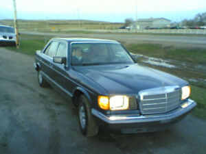 1981 Mercedes-Benz S-Class 300SD Turbo Diesel Sedan ~30mpg