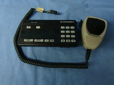 Motorola Syntor Uhf X9000 X 9000 110w Mobile Radio Control Head And Mic Hcn1033d