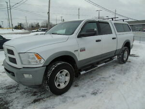 2010 DODGE RAM 2500 SLT 4X4 WHITE WITH MATCHING CAP WE FINANCE!!