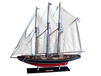 "Atlantic Limited 32"" - Wood Yacht Model - Model Sailing Boat - Model Yacht - Nau"