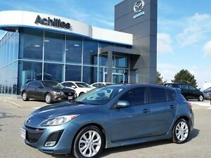 2011 Mazda Mazda3 Sport GT, Leather, Moonroof,