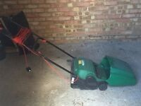 Qualcast Concorde 32 electric lawn mower. Collect from Putney