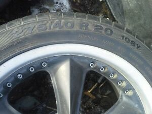 Foose rims and tires