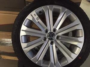"""OEM 18"""" brand new Volkswagen wheels with Hankook evo2 Winter tires"""