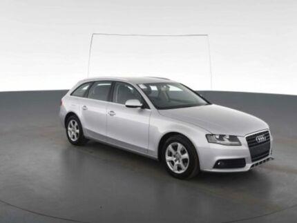 2011 Audi A4 B8 (8K) MY11 1.8 TFSI Avant Silver CVT Multitronic Wagon