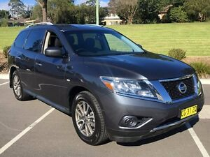 2014 Nissan Pathfinder R52 MY14 ST X-tronic 4WD Grey 1 Speed Constant Variable Wagon Lisarow Gosford Area Preview