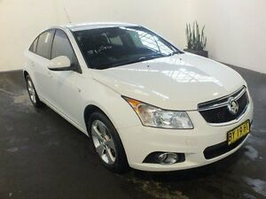 2014 Holden Cruze JH MY14 Equipe White 6 Speed Automatic Sedan Clemton Park Canterbury Area Preview