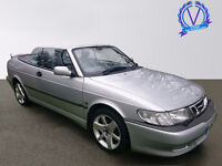 SAAB 9-3 2.0HOT SE 2dr (silver and blue) 2002