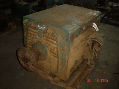 450 Hp General Electric Ac Electric Motor 1200 Rpm Fr 8288s Dpbb 2300 V Eok