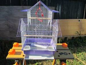 Baby Budgie & Brand New Small Tower Cage  ( 201 ) Narara Gosford Area Preview