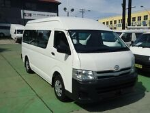 2011 Toyota Hiace KDH223R MY11 Upgrade Commuter White 4 Speed Automatic Bus Canada Bay Canada Bay Area Preview
