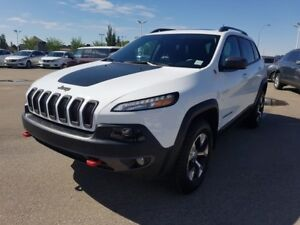 2017 Jeep Cherokee 4WD TRAILHAWK PLUS $31888 Accident Free,  Nav