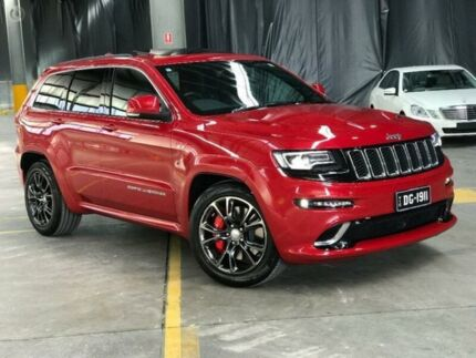 2015 Jeep Grand Cherokee WK MY15 SRT Redline 8 Speed Sports Automatic Wagon Port Melbourne Port Phillip Preview