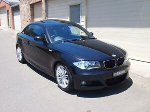 2009 BMW 125I E82 Black 6 Speed Automatic Coupe Petersham Marrickville Area Preview