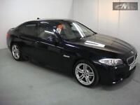 BMW 5 SERIES 520D M SPORT, Black, Auto, Diesel, 2013