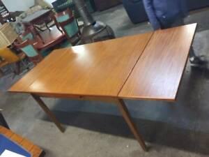 F33022 Vintage Retro Teak Extension Dining Table
