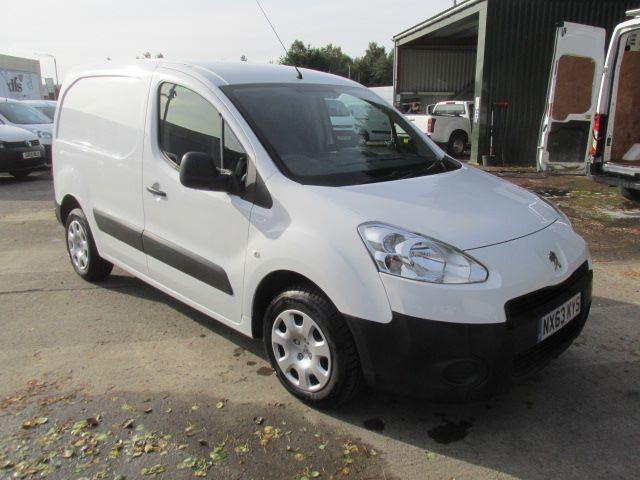 Peugeot Partner 850 S 1.6 Hdi 92 Van DIESEL MANUAL WHITE (2013)