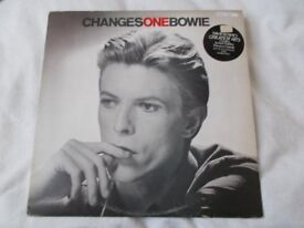 Vinyl LP Changes One Bowie – David Bowie RCA Victor RS 1055 Stereo 1975