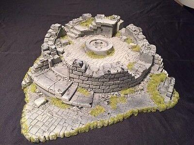 Warhammer Citadel Chaos Ruined Temple Tower Ruins Terrain - OOP - Games Workshop