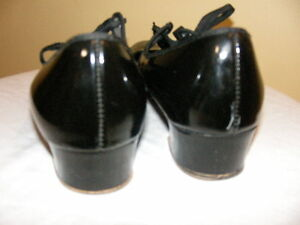 Capezio Black Leather Dance Shoes-Size 6 Regina Regina Area image 2