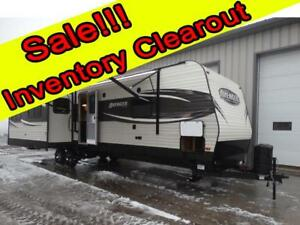 Couples 3-slide Travel Trailer with Rear Living Room