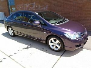 2007 Honda Civic VTi-L Purple 5 Speed Manual Sedan Chifley Woden Valley Preview