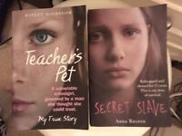 2 real life books - great reads - 50p