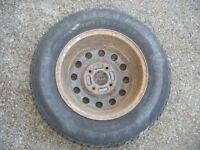 Barum 165/80 x 13 Tyre on Ford Wheel