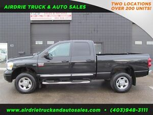 2009 Dodge Ram 2500 Laramie Black on Black