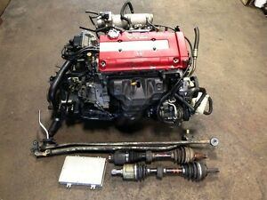 JDM B18C TYPE-R 96+ VTEC ENGINE MT LSD TRANSMISSION OBD2 INTEGRA