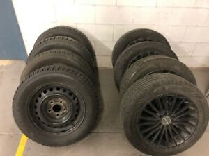 LIKE NEW - Summer Tires / Winter Tires - Used on a HONDA
