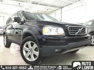 2010 Volvo XC90 AWD, 7 PASSAGER, CUIRE, TOIT, PARK & LANE ASSIST