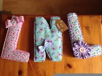 Little Letters by El! Handmade Personalised Fabric Letters!!
